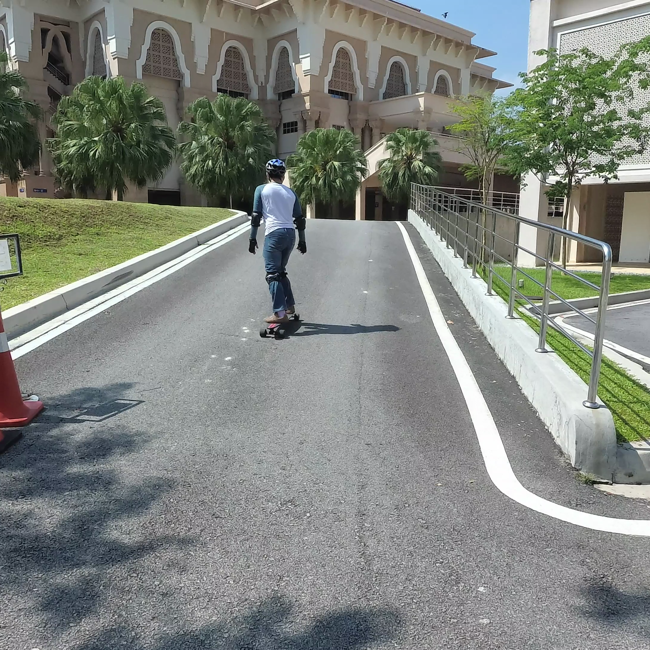 Teamgee Uphill Square Electric Skateboard Hq